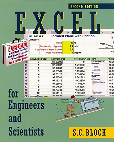 9780471256861: Excel for Engineers and Scientists