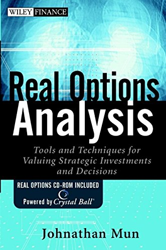 9780471256960: Real Options Analysis: Tools and Techniques for Valuing Strategic Investments and Decisions (Wiley Finance)