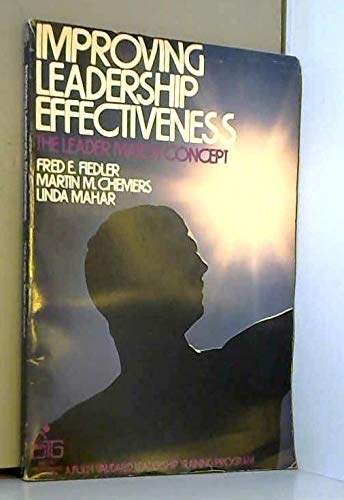 9780471258117: Improving Leadership Effectiveness: The Leader Match Concept (Self-teaching guides)