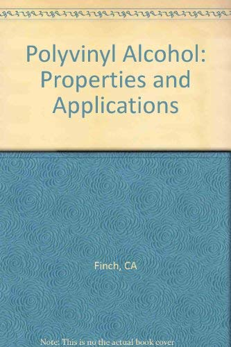9780471258926: Polyvinyl Alcohol: Properties and Applications
