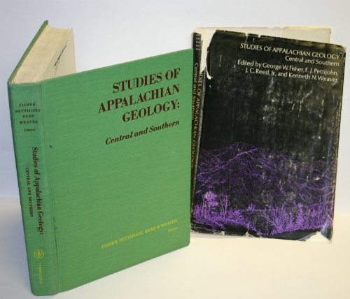 Studies of Appalachian Geology: Central and Southern
