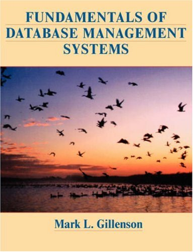 Fundamentals of Database Management Systems: Mark L. Gillenson