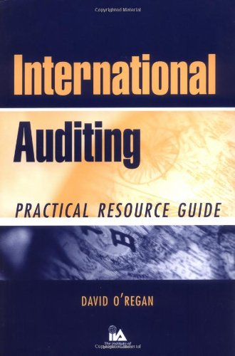 9780471263821: International Auditing: Practical Resource Guide