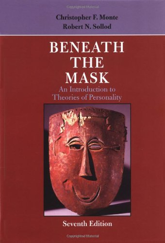 Beneath the Mask: An Introduction to Theories: Monte, Christopher F.;