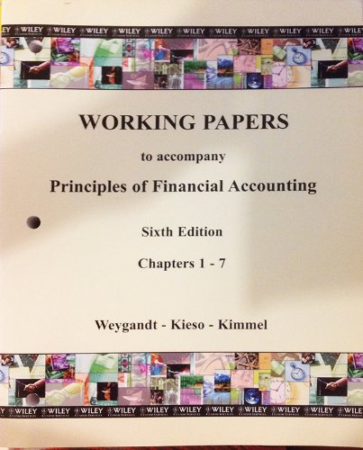 9780471265597: Principles of Financial Accounting