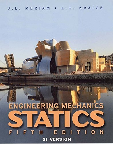 9780471266075: Engineering Mechanics: Statics 5e SI (WSE): Statics