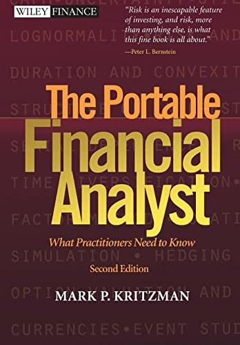 9780471267607: The Portable Financial Analyst: What Practitioners Need to Know, 2nd Edition