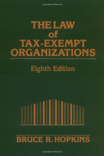 9780471268208: The Law of Tax-Exempt Organizations