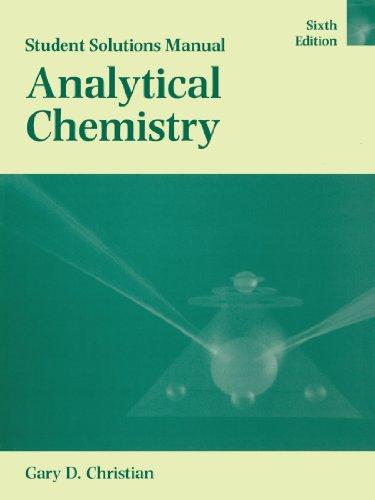 Manual Analytical Chemistry Abebooks