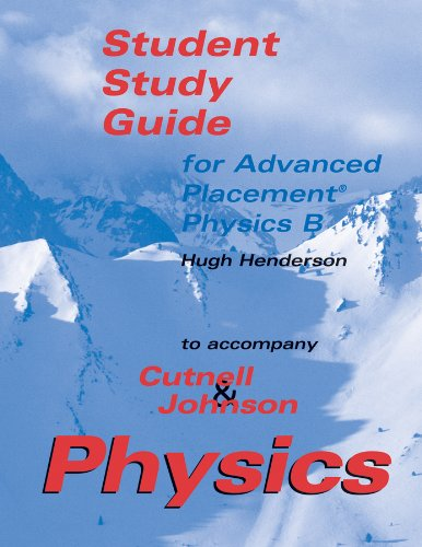9780471268505: Student Study Guide for Advanced Placement Physics B: Advanced Placement Student Study Guide