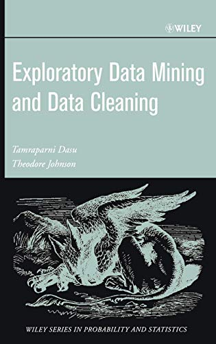 9780471268512: Exploratory Data Mining and Data Cleaning
