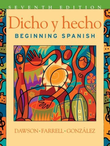 9780471268864: Dicho y Hecho: Beginning Spanish: Workbook to 7r.e.