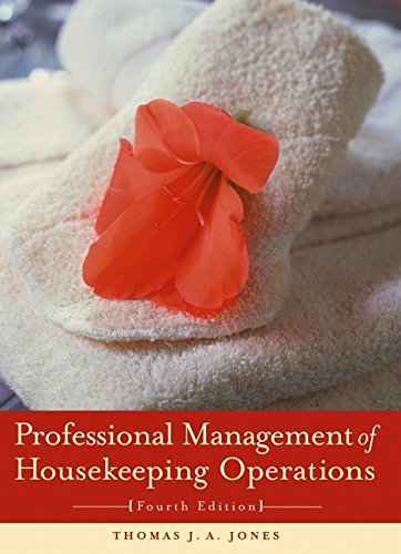 9780471268949: Professional Management of Housekeeping Operations