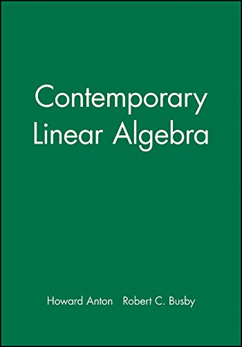 9780471269380: MAPLE Technology Resource Manual to accompany Contemporary Linear Algebra