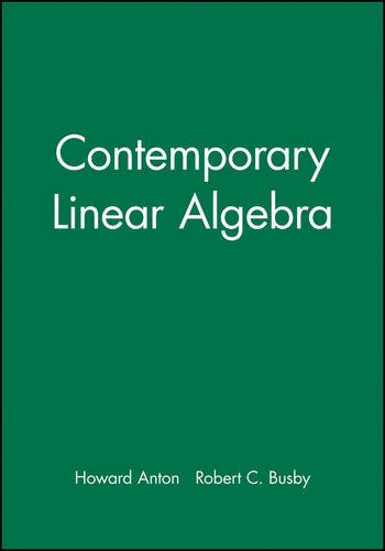 9780471269427: Contemporary Linear Algebra, Ti-Calculator Technology Resource Manual: TI-86 Calculator Technology Resource Manual (Mathematics)