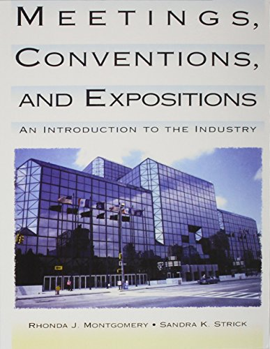 9780471269441: Meetings, Conventions, and Expositions: An Introduction to the Industry