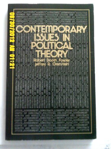 9780471270324: Contemporary Issues in Political Theory