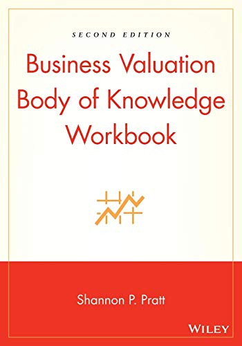 9780471270669: Business Valuation Body of Knowledge Workbook