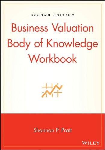 Business Valuation Body of Knowledge Workbook: Pratt, Shannon P.