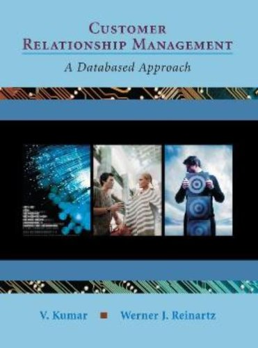 9780471271338: Customer Relationship Management: A Databased Approach