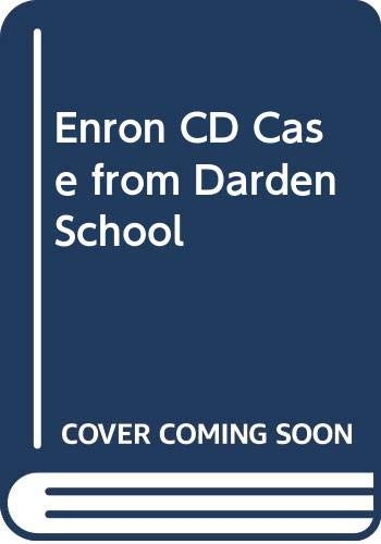 Enron CD Case from Darden School: John Wiley &