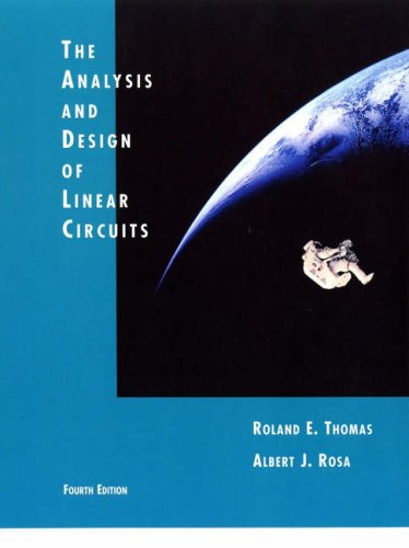9780471272137: The Analysis and Design of Linear Circuits