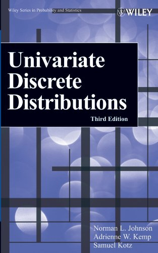 Univariate Discrete Distributions: Norman L. Johnson;