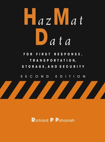 9780471273288: HazMat Data: For First Response, Transportation, Storage, and Security