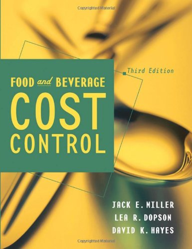 9780471273547: Food and Beverage Cost Control