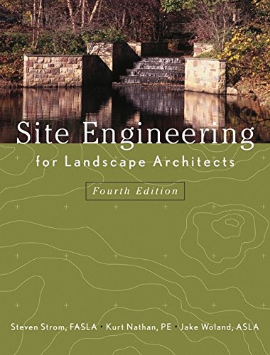 9780471273943: Site Engineering for Landscape Architects
