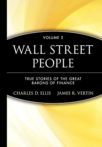 9780471274285: Wall Street People: True Stories of the Great Barons of Finance, Vol. 2