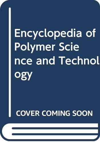 9780471275121: Encyclopedia of Polymer Science and Technology (Volume 9)