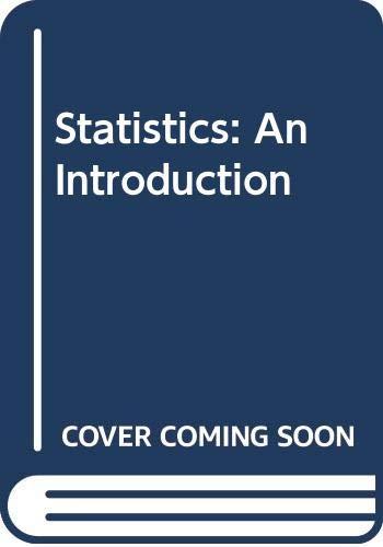 9780471275602: Fraser Statistics - an Introduction