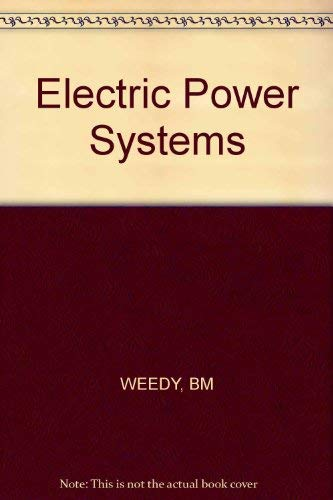 9780471275848: Electric Power Systems