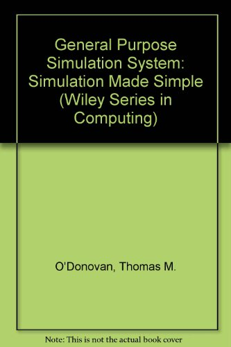 9780471276142: G.P.S.S.: Simulation Made Simple (Wiley Series in Computing)