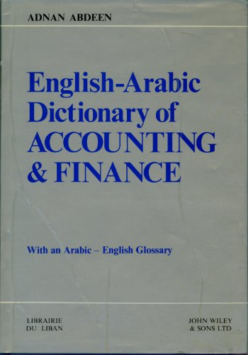 9780471276739: English-Arabic Dictionary for Accounting and Finance