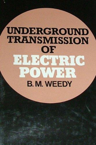 9780471277002: Underground Transmission of Electric Power