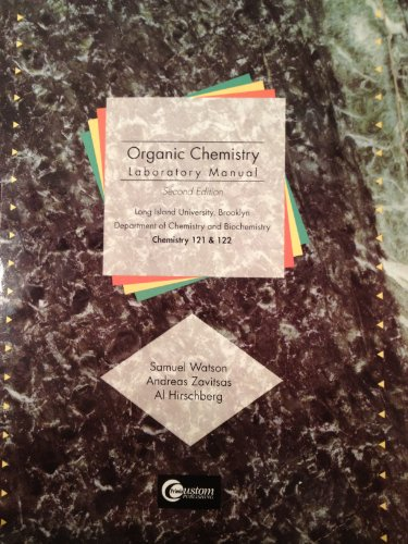 9780471277385: Organic Chemistry Laboratory Manual Chemistry 121 and 122