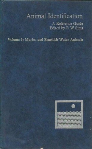 9780471277651: Animal Identification: Marine and Brackish Water Animals v. 1: A Reference Guide (Marine & Brackish Water Animals)