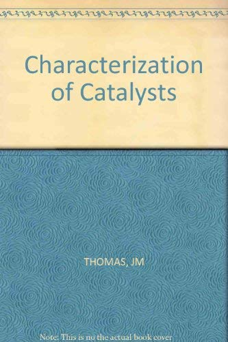 9780471278740: Characterization of Catalysts