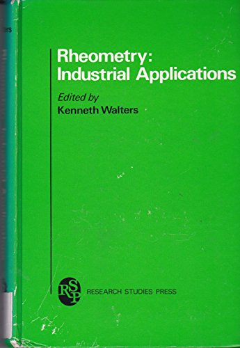 9780471278788: Rheometry: Industrial Applications