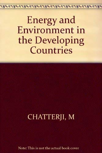 9780471279938: Energy and Environment in the Developing Countries
