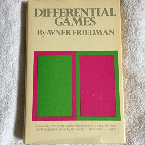 9780471280491: Differential Games (Pure & Applied Mathematics Monograph)