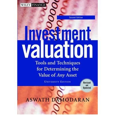 9780471280811: Investment Valuation