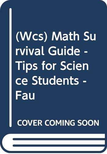 Wcs) Math Survival Guide - Tips for: Appling