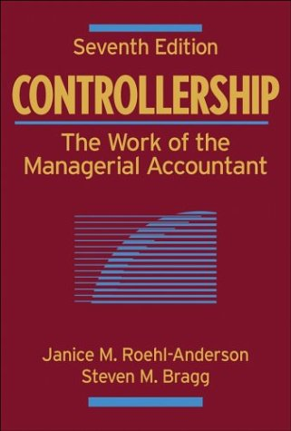 9780471281184: Controllership: The Work of the Managerial Accountant: 2006 Cumulative Supplement