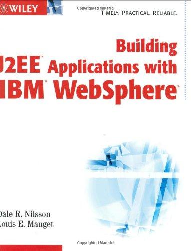 9780471281573: Building J2EE Applications with IBM WebSphere