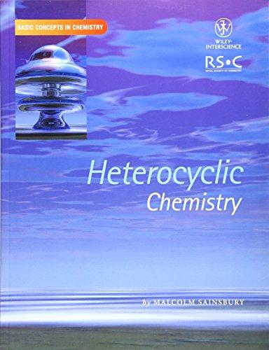 9780471281641: Heterocyclic Chemistry