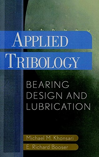 9780471283027: Applied Tribology: Bearing Design and Lubrication