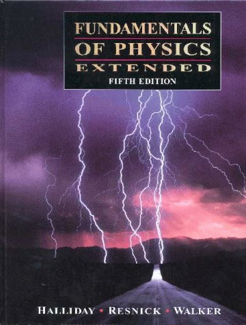 9780471283232: Fundamentals of Physics Extended Fifth Edition Version without Softlock CD-Physics, 2.0